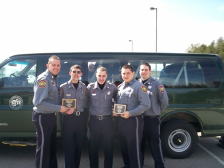 Mike with his State Competition Team in 2008
